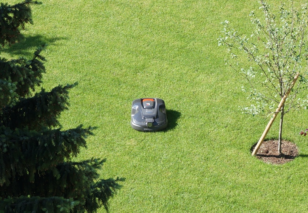 Rasenmähen Mähroboter