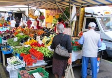 Markt Italien