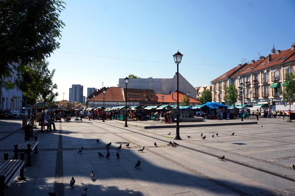 Marktplatz von Zenum Belgrad