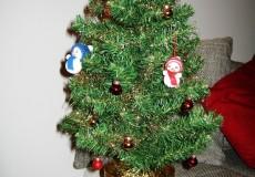 Mini Weihnachtsbaum Tisch