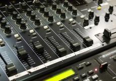 Tonstudio Mischpult