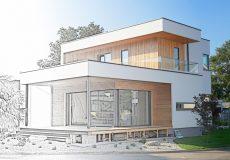 Modernes Haus Architektur
