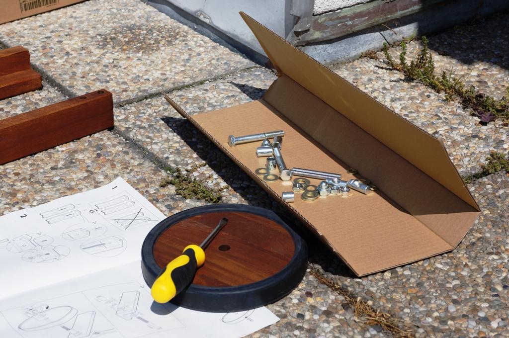 Möbel aufbauen 1