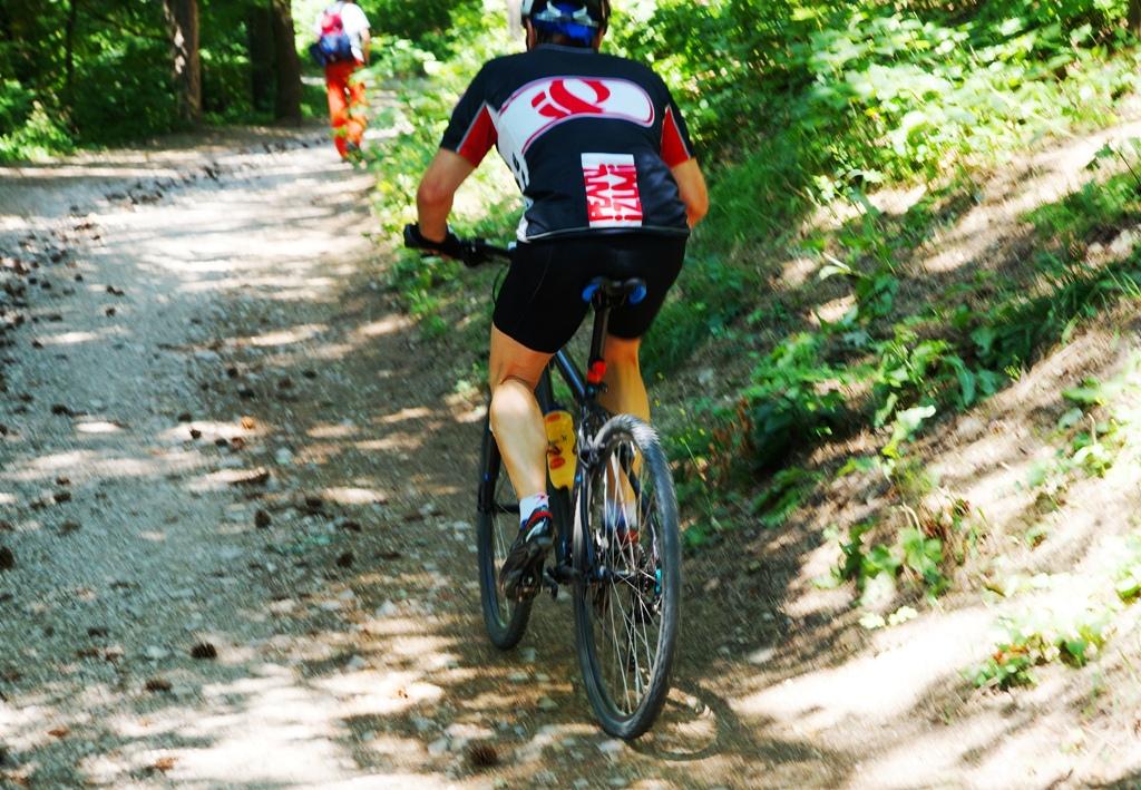 Mountainbiker Urlaub
