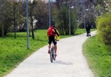 Mountainbiker Mountainbiking