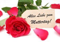 Muttertag – Alles Liebe zum Muttertag