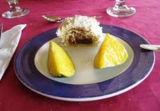 Nachspeise Kuchen Mango