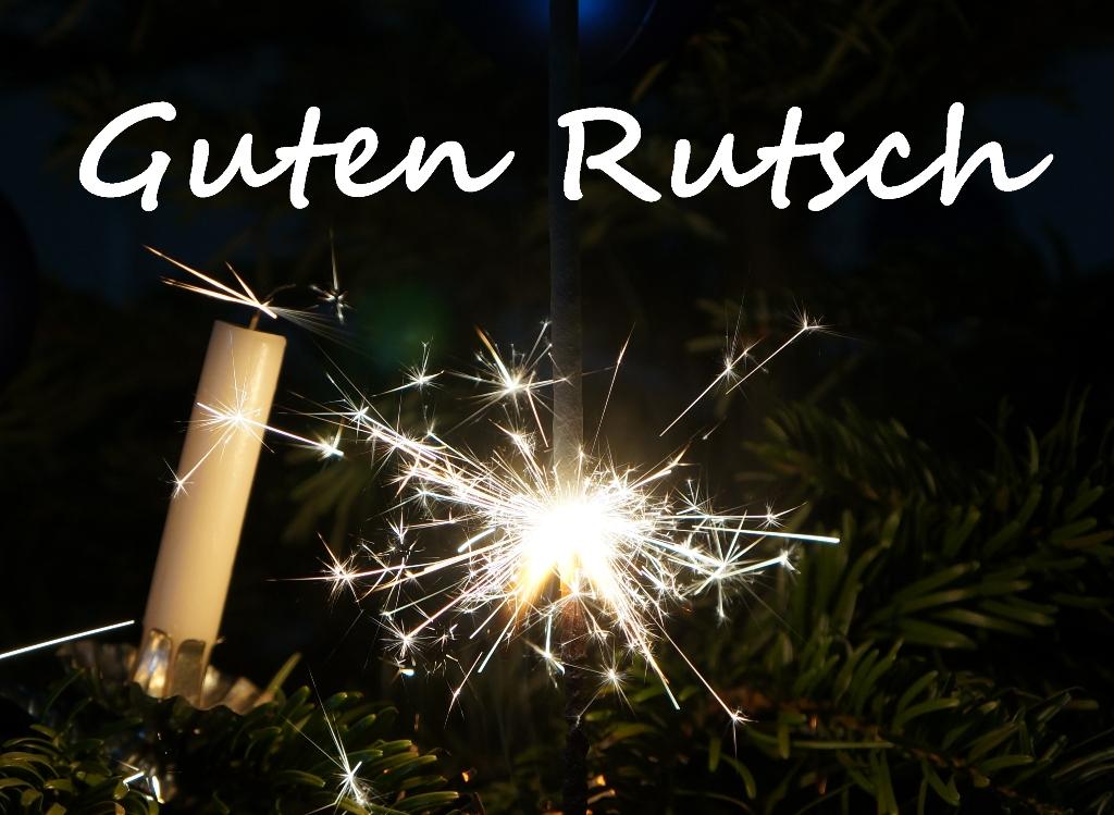 Neujahr – Guten Rutsch