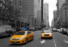 New York Taxi gelb
