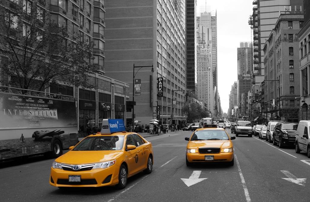 New York Taxi gelb