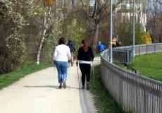 Nordic Walking Spazieren