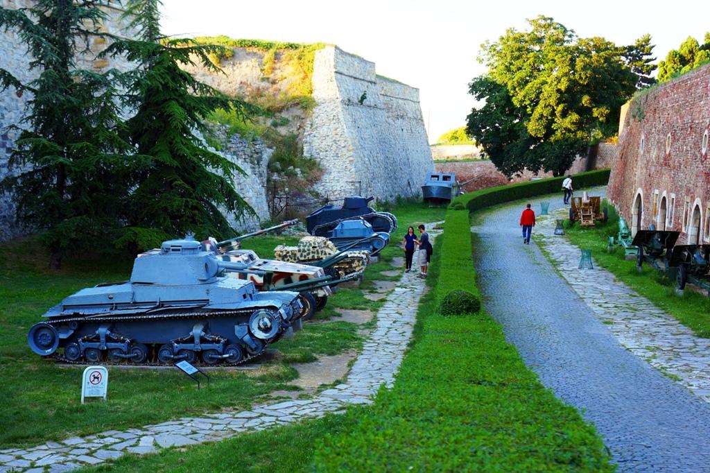 Panzer Festung Kalemegdan Belgrad