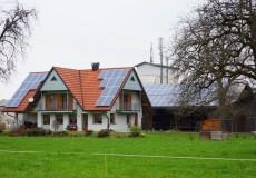 Bauernhof mit Photovoltaik
