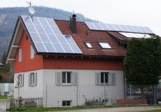 Einfamilienhaus mit Photovoltaik