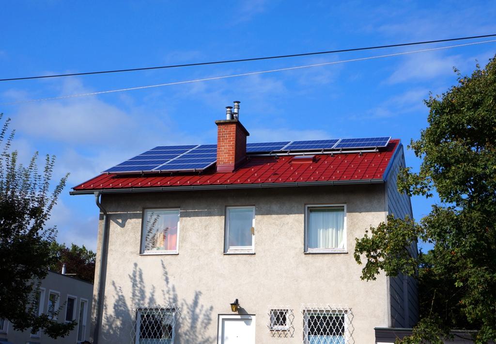 Photovoltaik Solar Haus