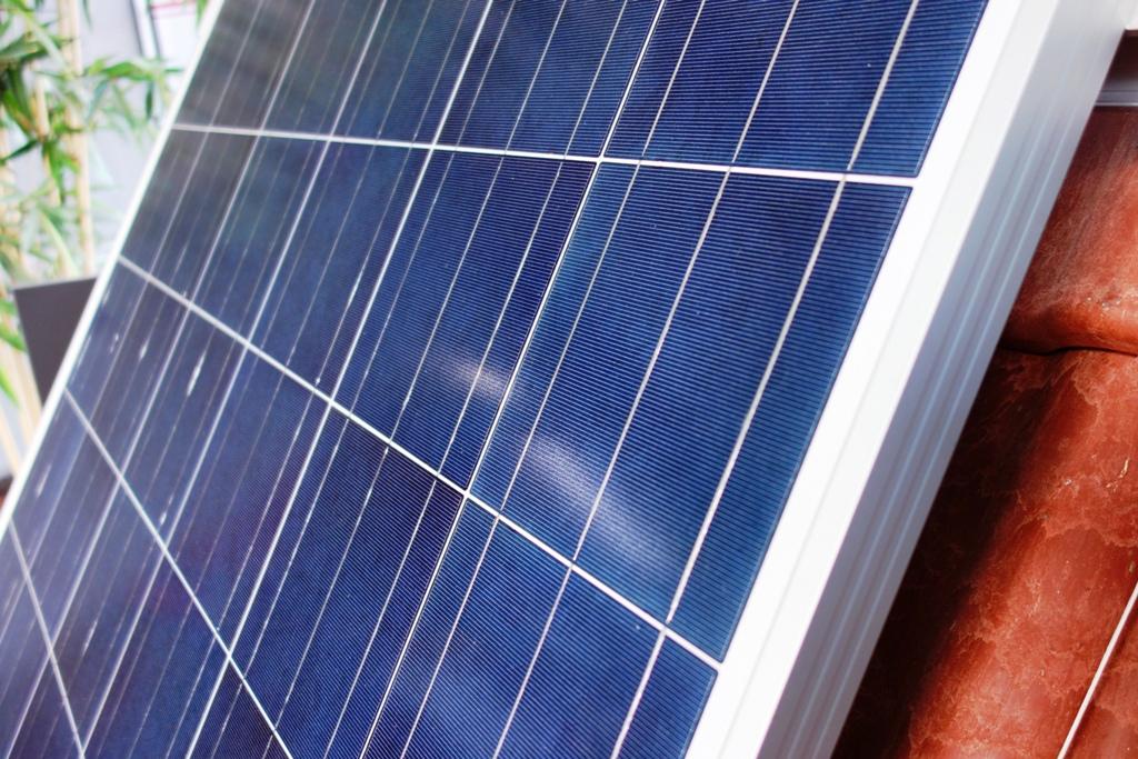 Photovoltaikanlage auf Ziegeldach