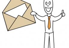 Sie haben Post – Postbote