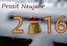 Prosit Neujahr 2016 – Frohes Neues
