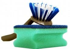 Putzen Schwamm Bürste