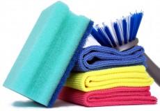Putzschwamm Bürste Tücher