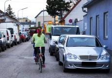 Radfahrer Strasse