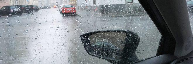 Regen Unfallgefahr