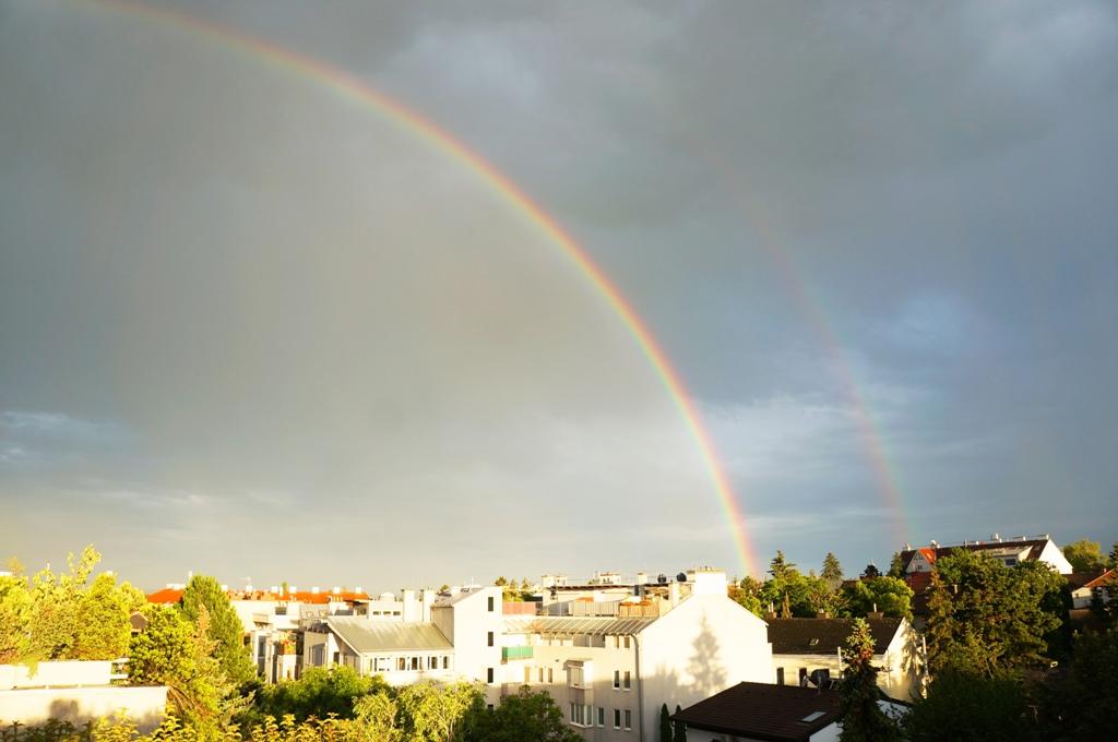 Regenbogen Häuser