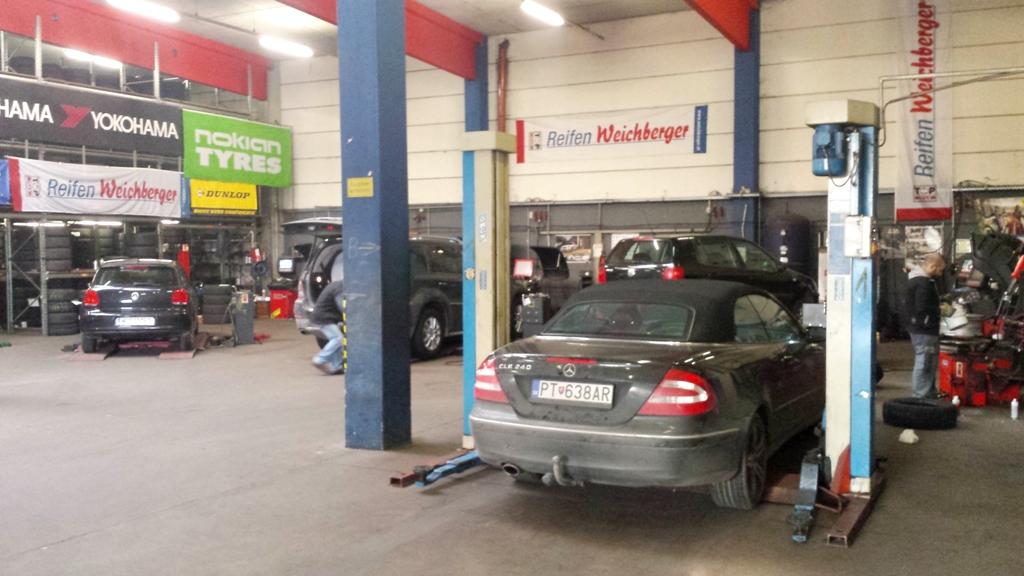 Reifenwechsel Werkstatt
