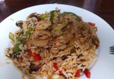 Reispfanne – Asiatische Pfanne