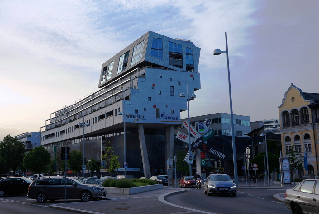 Riverside Einkaufszentrum Wien Liesing