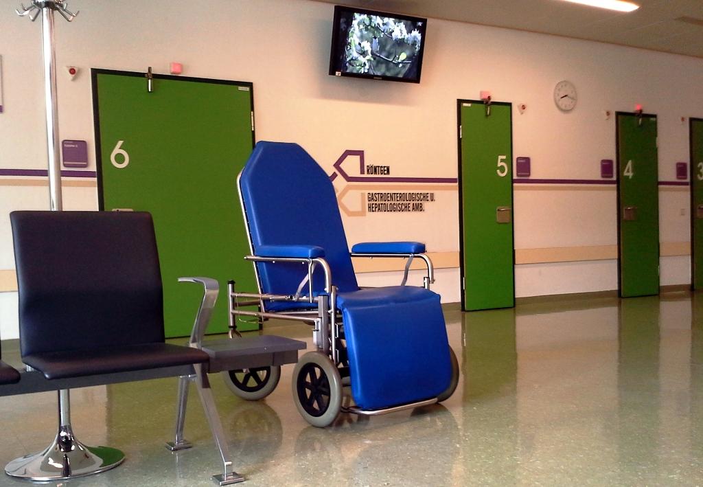 Krankenhaus Rollstuhl