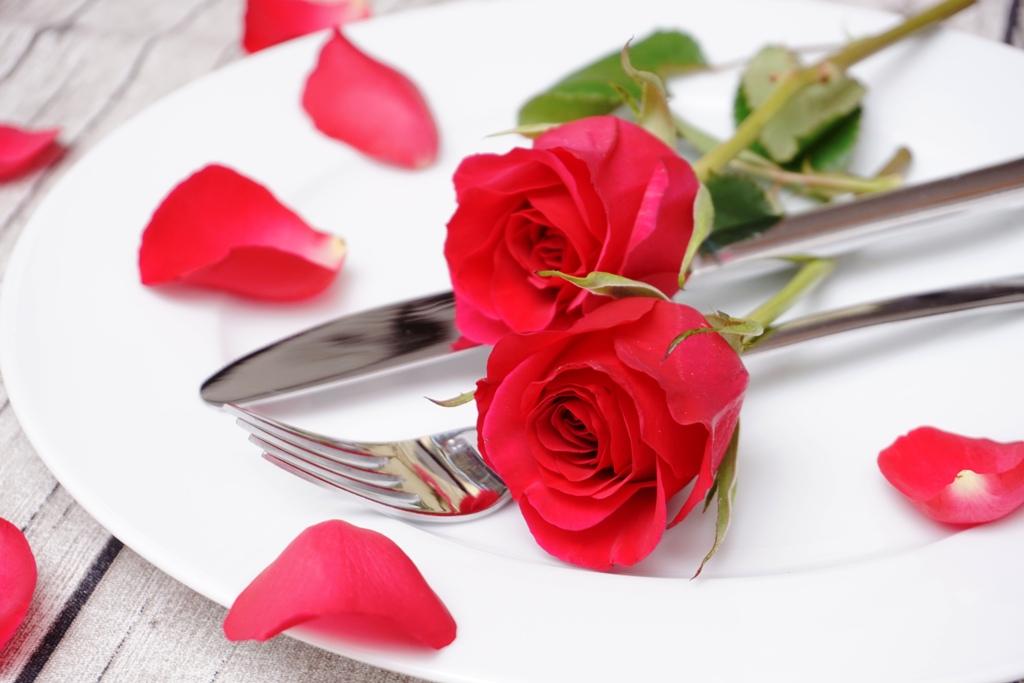 Ein romantisches Essen