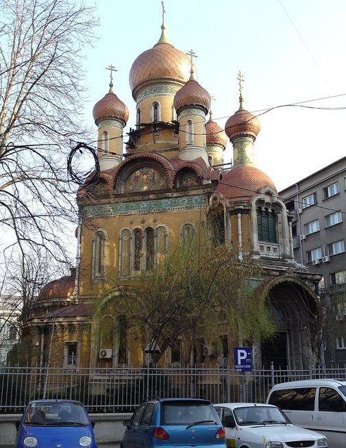 Russische Kirche Kathedrale
