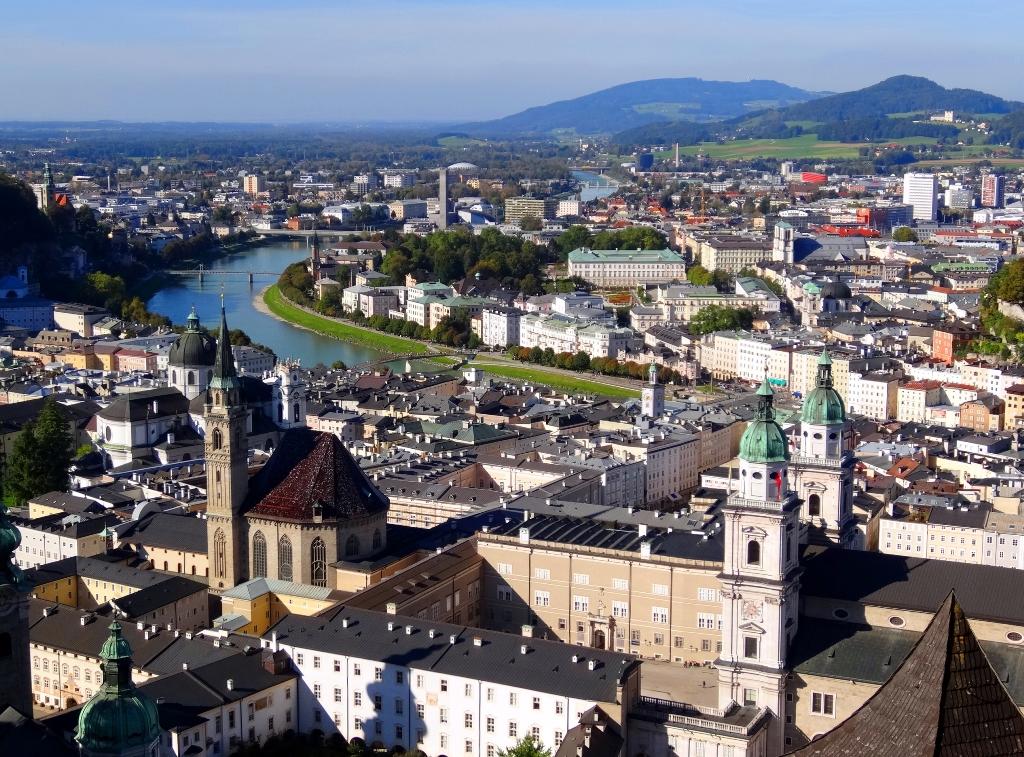 Panorama Salzburg