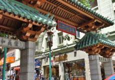 Eingang China Town – San Francisco