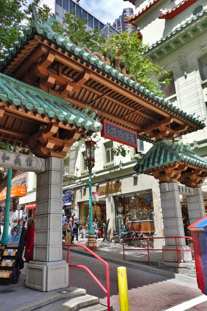 Eingang China Town – San Francisco