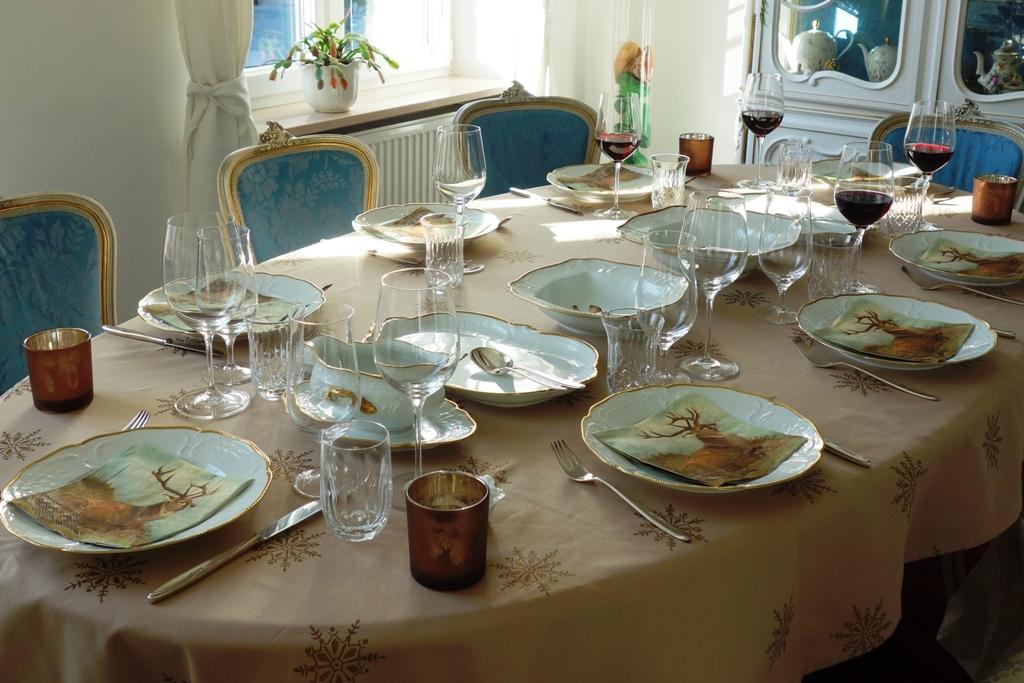 Wunderschön gedeckter Tisch