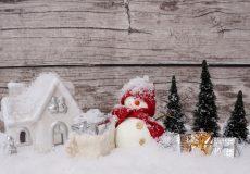 Ein Schneemann bringt Geschenke?
