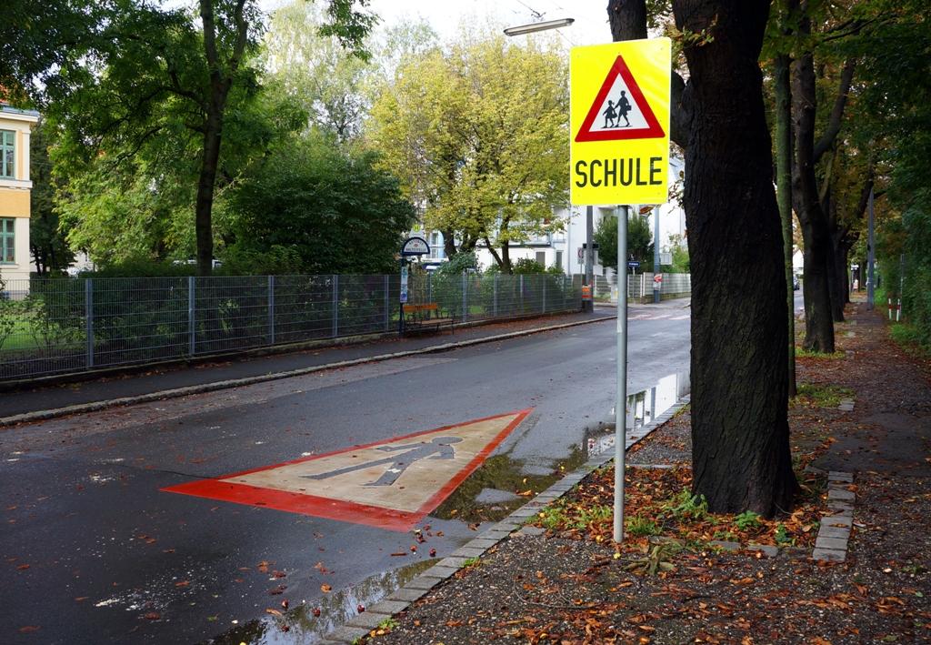Schulweg – Achtung Kinder!
