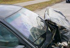 Ein schwerer Autounfall
