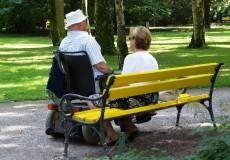 Senioren Rollstuhl