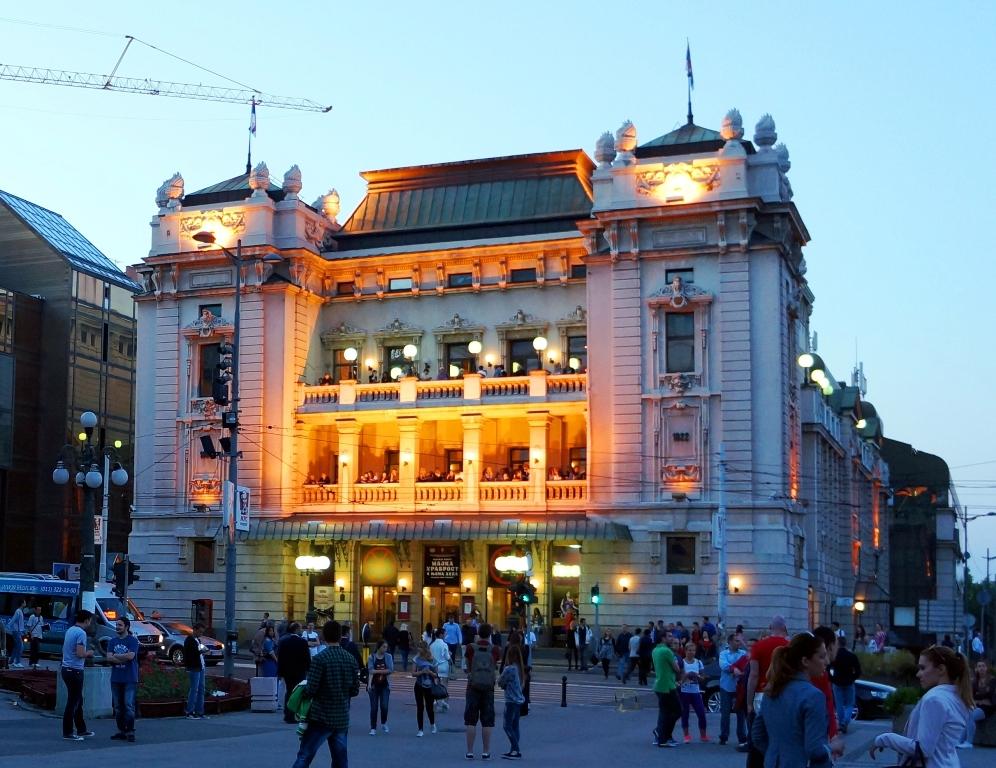 Serbisches Nationaltheater Belgrad