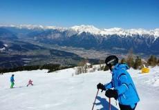 Skifahren Patscherkofel