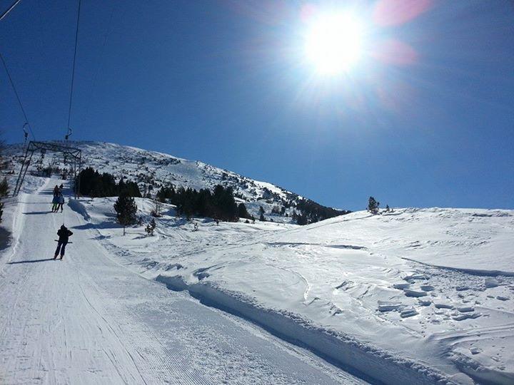 Skifahren Schlepplift Patscherkofel