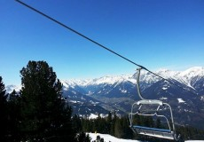 Skifahren Sessellift Patscherkofel 1