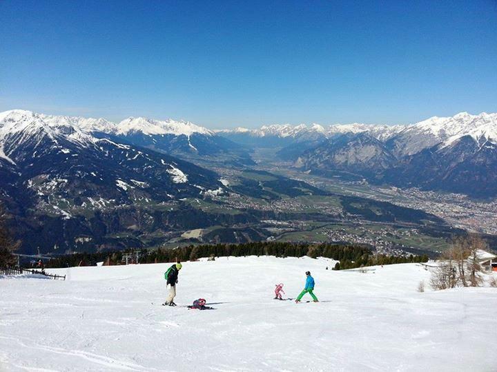 Skifahren Skipiste Patscherkofel Innsbruck