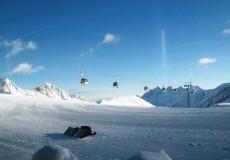 Skifahren Stubai Tirol