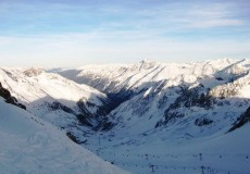 Skifahren Stubai Tirol 1