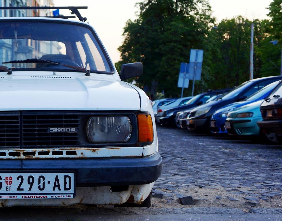 Skoda in Belgrad