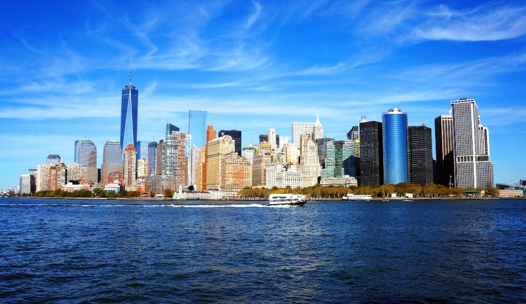 New York Skyline Lizenzfreie Fotos Bilder Kostenlos